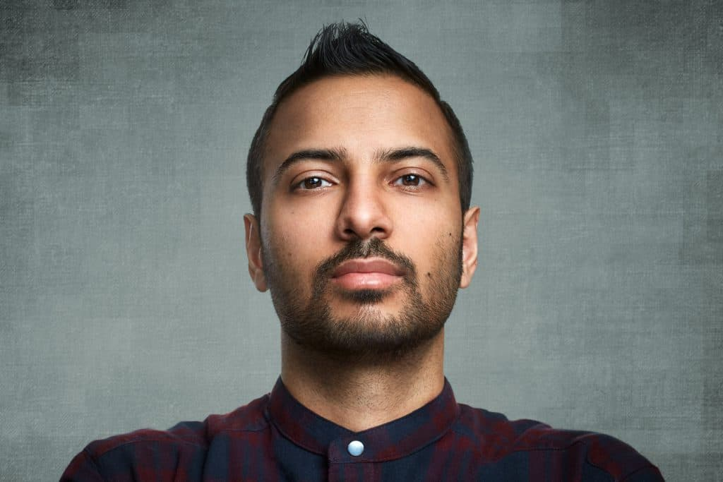 Jag Sidhu CTO of Blockchain Foundry headshot