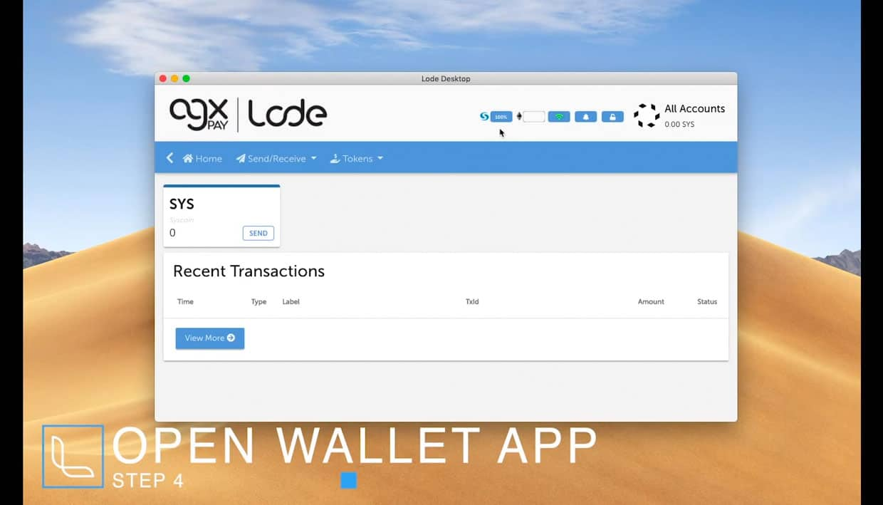 LODE and AGXPay Wallet