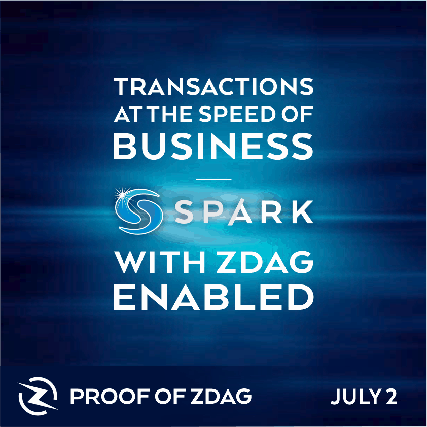 proof of z-DAG with Syscoin Spark